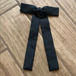 Women's Black necktie